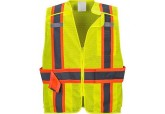 Class 2 Expandable Mesh Break Away Safety Vest US385