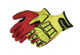 Liberty Glove 929 Retaliator Seamless Impact Glove Hook and Loop Closure