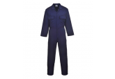 Portwest S999 Euro Style Polycotton Navy Blue Work Coverall