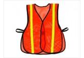 Economy Orange Safety Vests