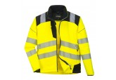 Portwest T402Hi Vis Softshell Jacket