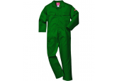 UBIZ1 Portwest Bottle Green Flame Resistant Coveralls 9.5 oz