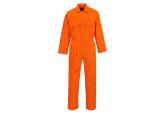 Portwest 9.5 oz UBIZ1 Orange Flame Resistant Coverall
