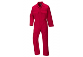 UBIZ1 Portwest Red Flame Resistant Coveralls 9.5 oz
