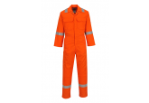 Portwest UBIZ5 Orange Bizweld Iona FR Coveralls