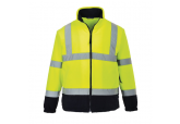 Portwest UF301 Hi Visibility Two-Tone Fleece
