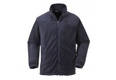 Portwest UF400 Navy Blue Argyll Heavy Fleece Jacket