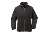 Portwest UF401 Black Heavyweight 12 oz Fleece Jacket