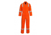 Portwest UFR21 Orange Flame Resistant Blue Super Light Weight Anti Static Coveralls
