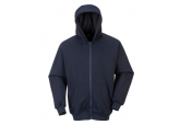 UFR81 - FR Zipper Front Hooded Sweatshirt