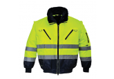 Portwest UPJ50 Hi Visibility 3-in1 Jacket