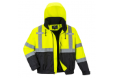 Hi Visibility Premium 2-in-1 Bomber Jacket, SHIPS FREE