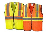 Portwest US381 Safety Vest, Class 2 Hi Visibility Hi Contrast Safety Vest