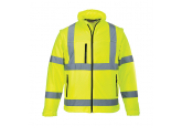 Hi Visibility Yellow Soft Shell Jacket Portwest US 428