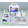 10 Person Plastic Office First AId Kit