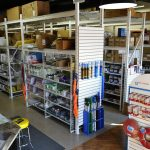 Industrial Safety Supply stock room