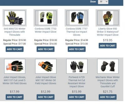 Buy Waterproof Impact Gloves!